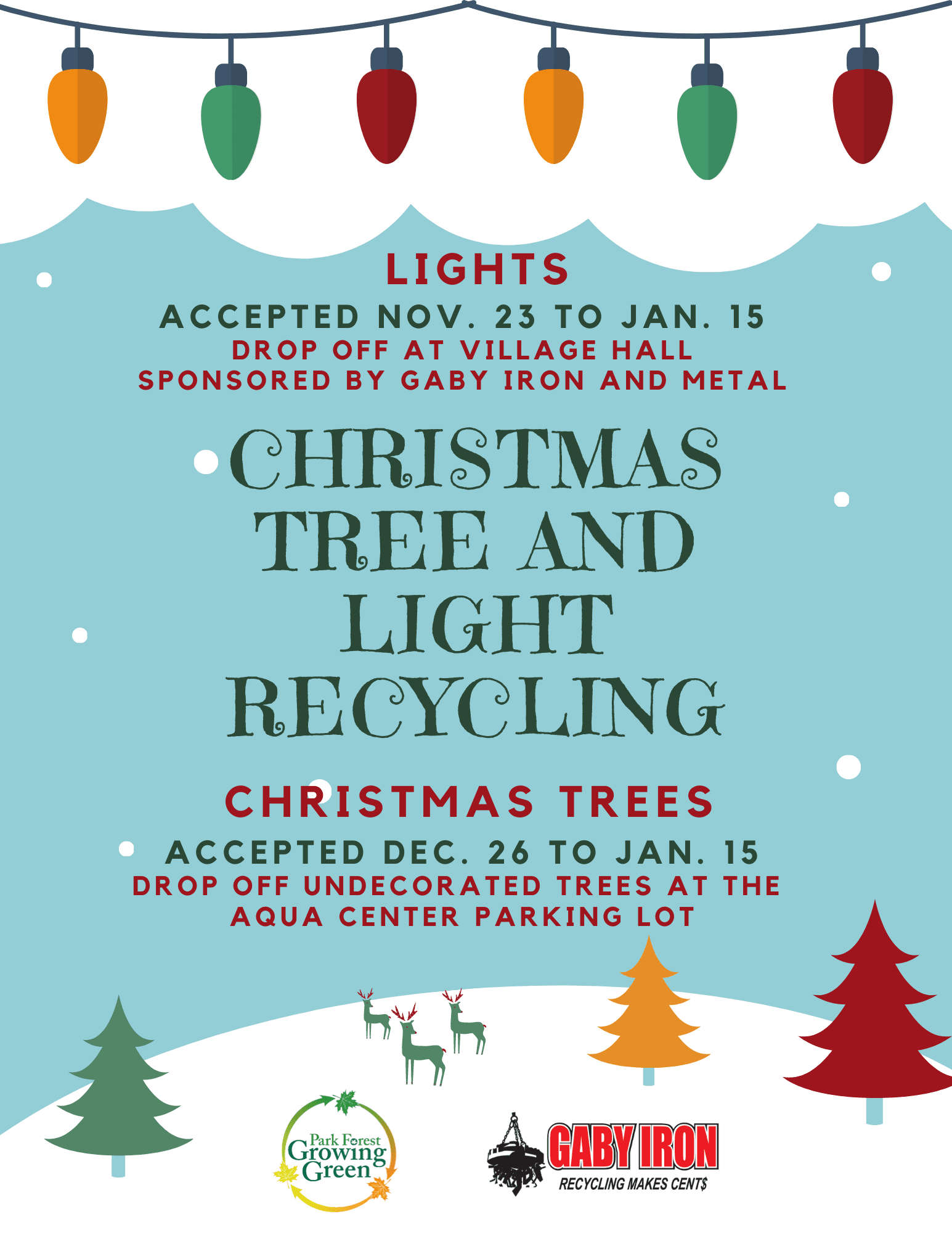 Christmas Tree and Light Recycling Flyer (5)