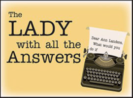 lady with all the answers