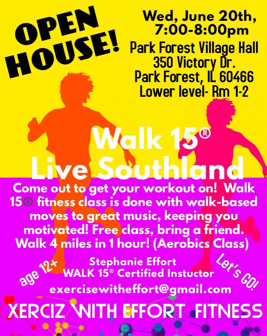 Walk 15 Southland Open House Flyer 6_20_18