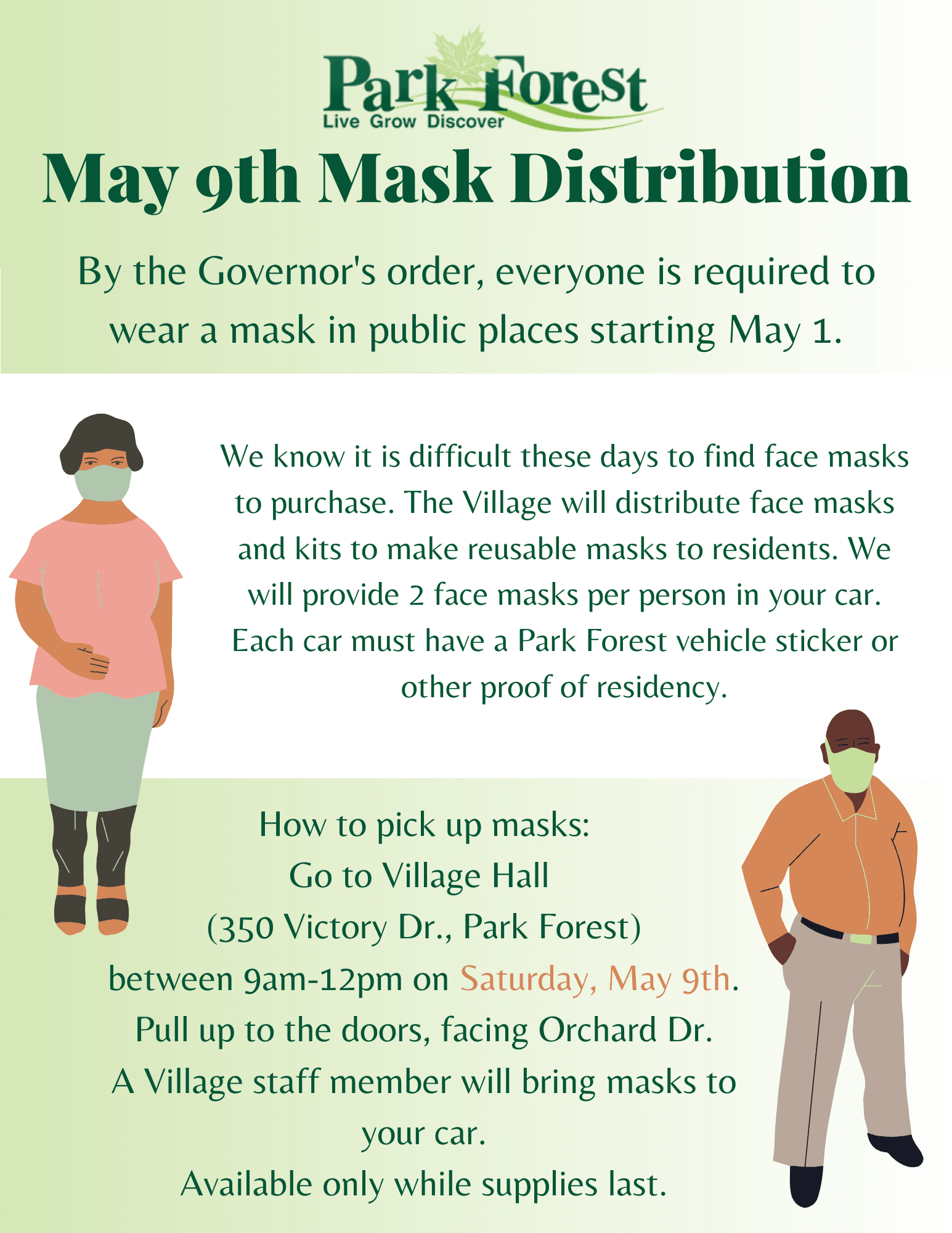 PF Mask Distribution May 9 2020